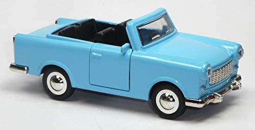Generisch Trabant 601 Cabrio hellblau Trabi Modellauto ca. 1:30 = 12,5 cm Neuware Trabbi