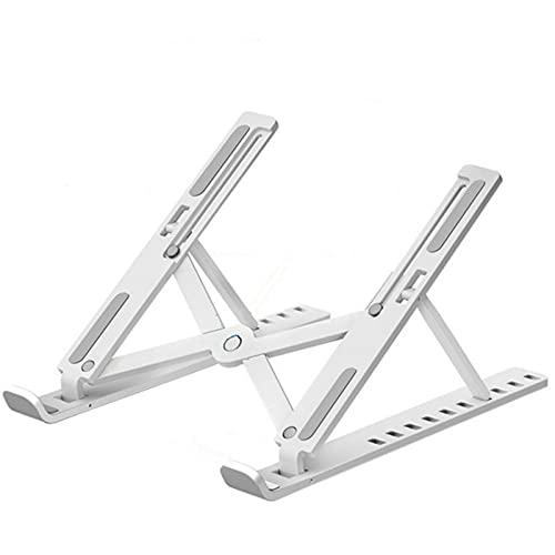 DTKJ Soporte plegable para portátil con ventilador de refrigeración Soporte portátil con almohadilla de enfriamiento de aleación de aluminio