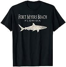 Retro Fort Myers Beach FL Shark T-Shirt