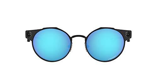 Oakley Herren Deadbolt Sonnenbrille, Satin Light Steel, 50