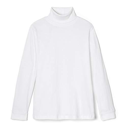 French Toast Little Boys' Toddler Turtleneck Shirt, White, 3T Boys Clothes White Turtleneck