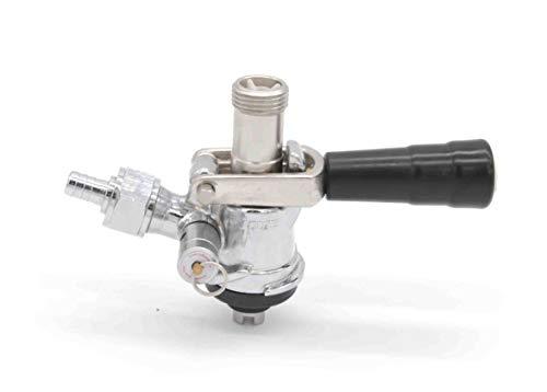 K&B Keg Tap Draft Beer Coupler - Multiple System Types (S-System Coupler, Stainless Steel)