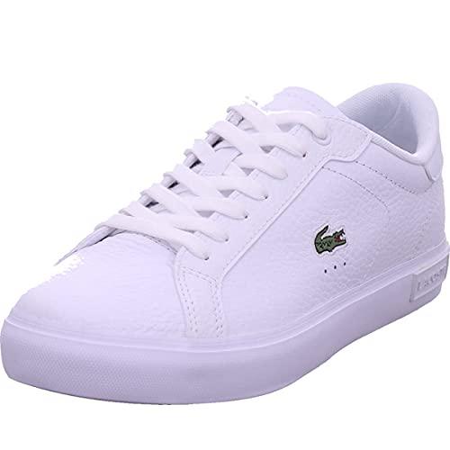 Lacoste Damen POWERCOURT 0721 2 SFA Sneaker, Wht/Wht, 40 EU