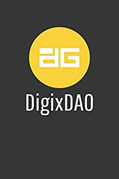 Digixdao Notebook  Lined Journal 120 Pages 6 x 9 Affordable Cryptocurrency Blockchain Crypto Gift Journal Matte Finish