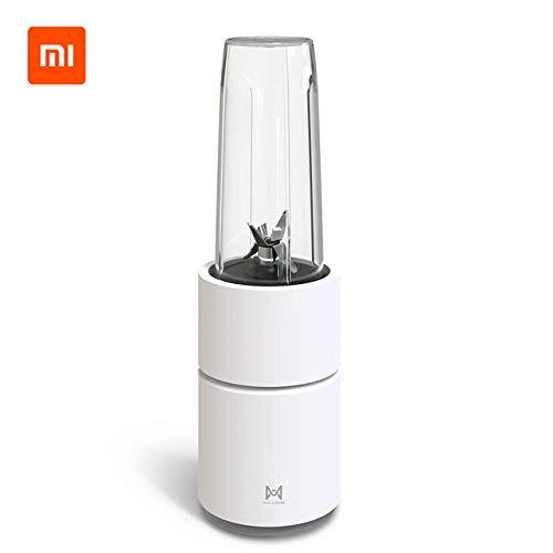 Mdsfe Mini elektrische Obstsaftpresse Obstsaftpresse Obstgemüse Kochmaschine Home Travel Entsafter - weiß, a2, a11 Stecker