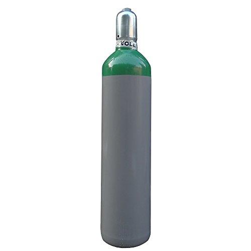 Argonflasche Argon 4.6 20 Liter fabrikneue Eigentumsflasche zum WIG Schweissen - von Gase Dopp
