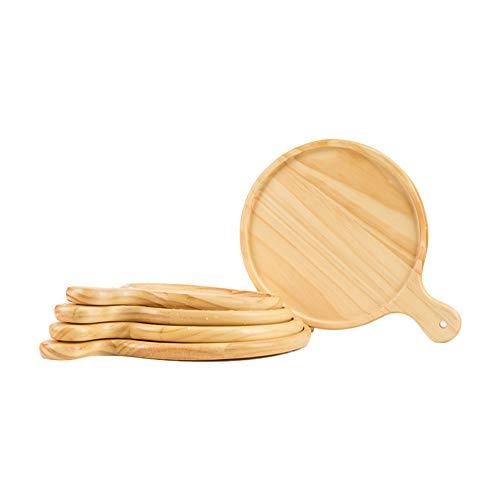 Pizzabrett aus Holz mit Gravur - Schneidebrett mit Griff - Ideal als Geschenk - Motiv Original Pizza,Wie das Bild zeigt,8'