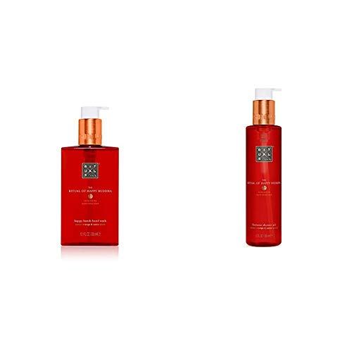 RITUALS The Ritual of Happy Buddha Handseife, 300 ml & The Rituals of Happy Buddha Duschöl, 200 ml