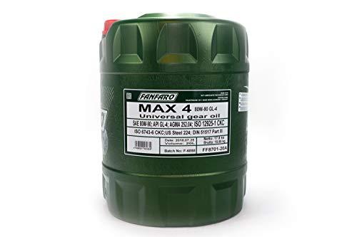 1 x 20L FANFARO MAX 4 80W-90 GL-4 / Universal Schaltgetriebe-Öl