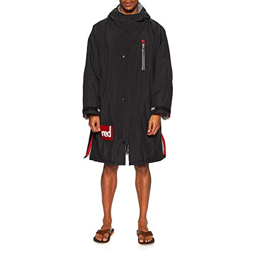 Red Paddle Co - SUP Stand Up Paddle Boarding - Giacca Originale LS PRO Cambia Cappotto - Nera - Calore Termico
