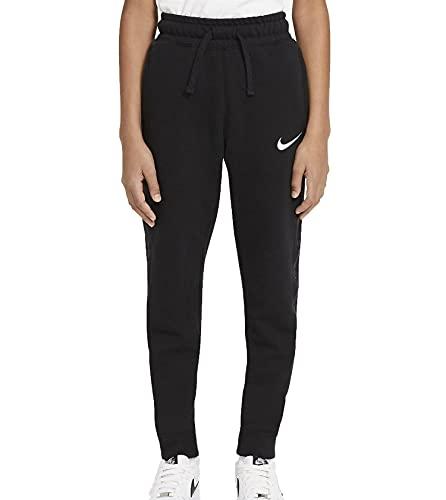 Nike Jungen B Nsw Flc Swoosh Pant Hose, Black/White, 152 EU