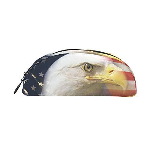 Montoj Stifteetui, Adler mit amerikanischer Flagge