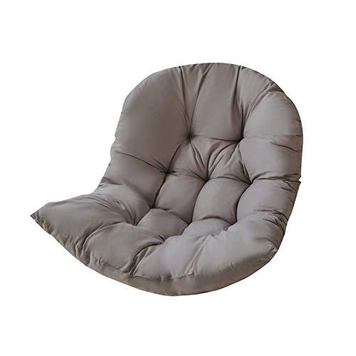 HUAIXIAOHAI Huaixiahai Cojín de colchón de colchón de colchón de colchón de colchón Integrado cómodo cómodo Cojín de Columpios Suave Kussen (Color : Gray)
