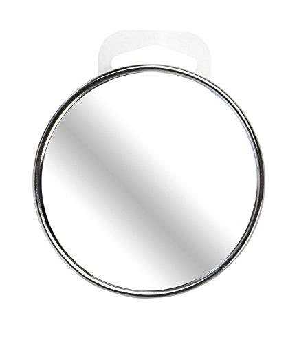 Beter Look - Espejo cromado con ventosa, aumento 10x, 9 cm