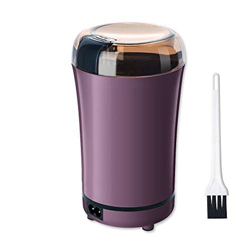 Macinacaffè elettrico, con lame in acciaio inossidabile e spazzola di pulizia, Macinacaffè di...