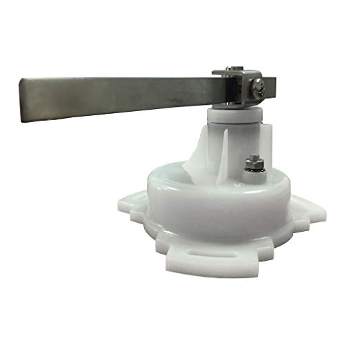 Shiwaki 12V / 24V Ruderlagenanzeiger Sensor Für Marine Sensoren Weiß