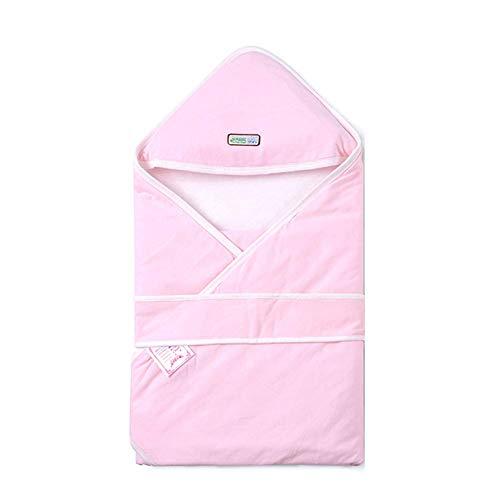 Katoenen deken, sterilisatie op hoge temperatuur Vacuümverpakking Babydeken Pasgeboren benodigdheden, roze