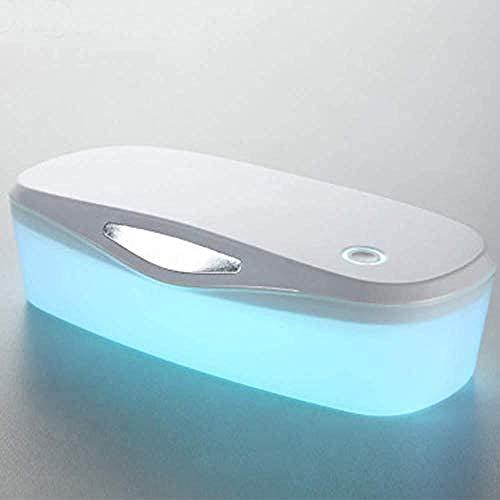 Mobiele telefoon Sterilisatie Doos Spijker Uv Sterilizer Doos, Beauty Instrument Desinfectie Tool, 2 in 1 Ultraviolet Licht Ozon Draagbare Sterilisatie Doos