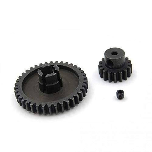 Piezas de actualización de Metal Motor Piñón Reductor Set for Wltoys A949 A959 A969 A979 K929 RC Accesorios de Repuesto for automóviles