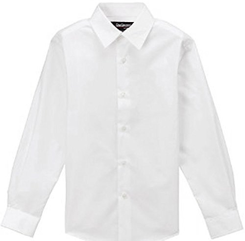 WHITE SHIRT for Boys Gino Formal Dress Shirt From Baby to Teen (12)