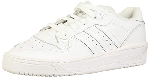 adidas Rivalry Low W, Sneaker Femme, Blanco/Negro, 40 EU