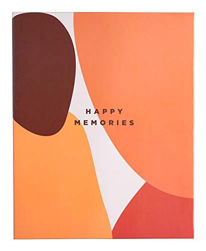 Erik® - Album foto 13x20 cm, 200 tasche, copertina rigida - Terracotta