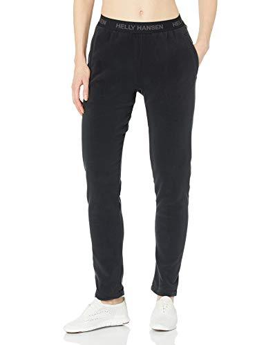 Helly Hansen W Daybreaker Fleece Pant, Mujer, Negro, S