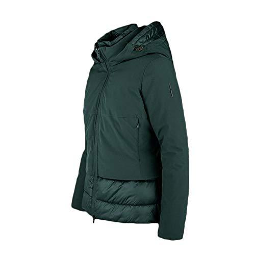 Bomboogie - Daunenjacke für Damen, Füllung Primaloft®, Farben Schwarz und Grün - GW5925TRSAC - M, Grün