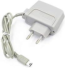 Link-e : Cargador de red gris compatible con la consola Nintendo DS Lite (cable de carga, alimentacion, adaptator de corriente...)