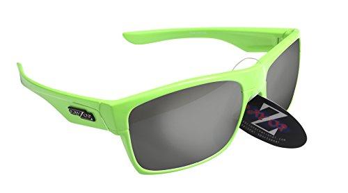 Gafas de sol para la nieve RayZor, 100 % protección UV400, con ventilación, cómodas y resistentes, antideslumbramiento, para esquís, moto de nieve y snowboard, Green 424