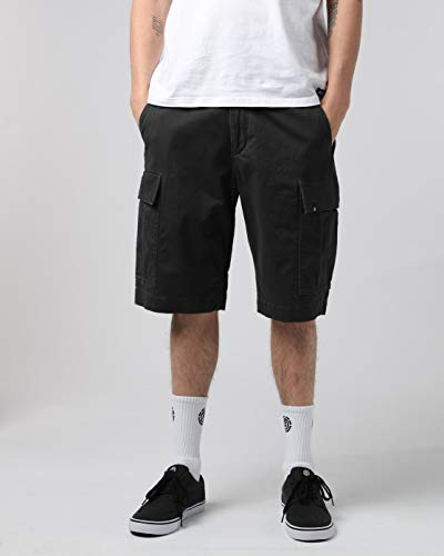 Element Legion Cargo II Walk - Pantalones cortos para hombre asfalto 28