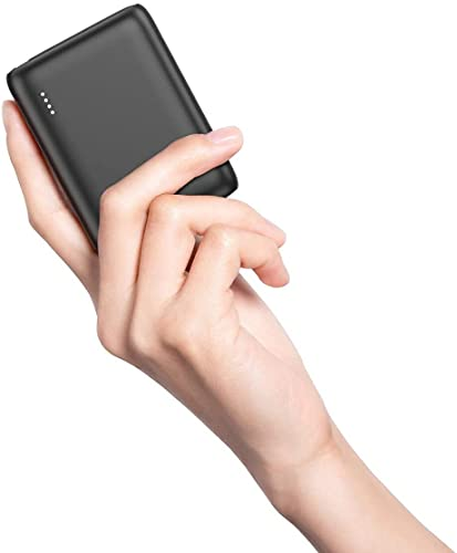 BABAKA Mini Power Bank 10000mAh, Batería Externa con PD18W & QC 3.0 Cargador Portátil Compacto Pequeño y Ligero con Tecnología de Carga Rápida para Samsung Galaxy y más