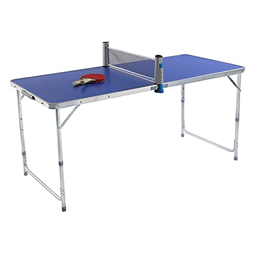 Mesa De Ping-Pong Pequeña para Niños, Mesa De Tenis De Mesa Plegable...