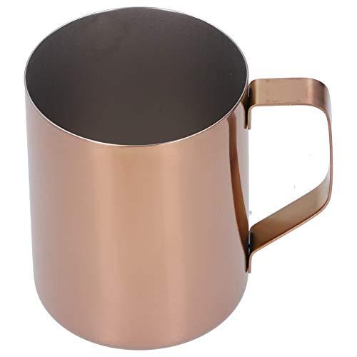 Drink Cup Coffee Cup respetuoso con el medio ambiente. Barra de cerveza para restaurante casero(Rose gold)