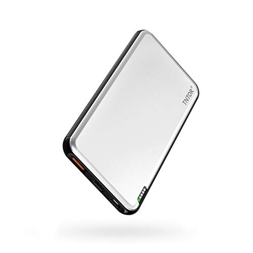 TNTOR モバイルバッテリー 持ち運び充電器 10000mAh 大容量 急速充電 小型 軽量 薄型 PD/QC対応 【PSE認証...