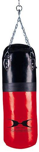 HAMMER Boxsack Premium Kick, rot, 30x100 cm, 92510