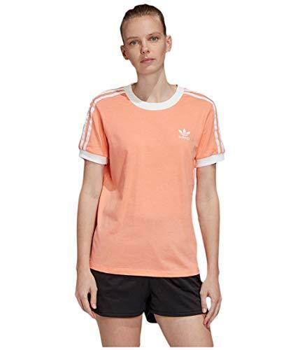 adidas Originals Camiseta de 3 rayas para mujer