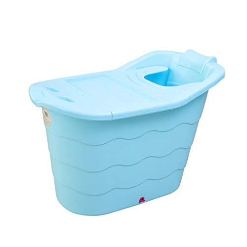C-K-P Badewanne dicke Badewanne aus Kunststoff Badewanne für Erwachsene/Badewanne Europa (98X59X66cm)