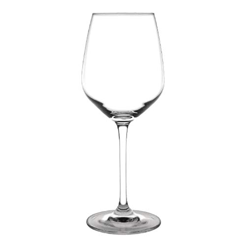 Olympia carillon Capacité Crystal Glass Wine: 12.75 oz / 365ml. Quantité, boite: 6.