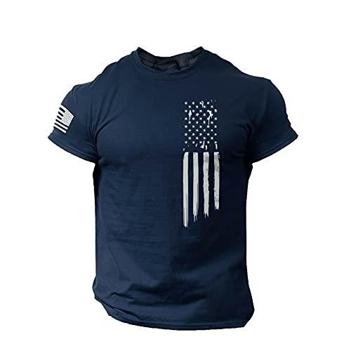 BIBOKAOKE T-Shirt Herren Klassischer...