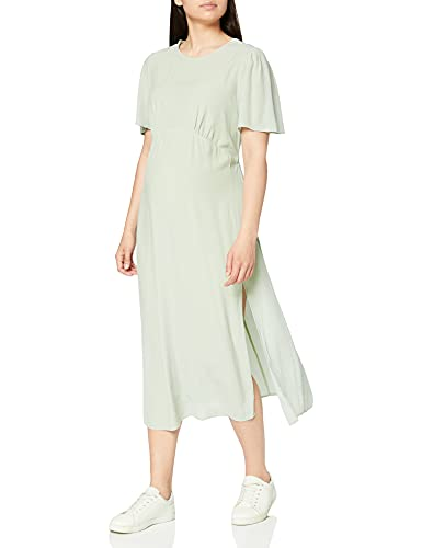 New Look Maternity Split Vestido, Verde (Light Green 31), 42 (Talla del Fabricante: 14) para Mujer