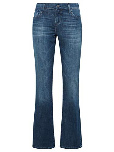 Mavi Damen Mona Straight Jeans, Blau (Dark Indigo Memory 23755), W30/L34