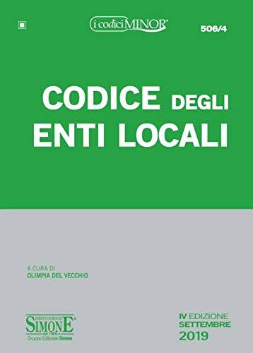 Codice degli enti locali. Ediz. minor