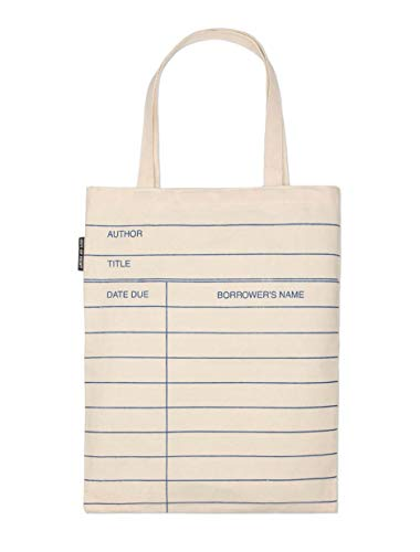 Out of Print Library Card (Natural) Tote Bag