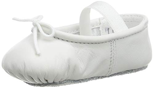 Bloch Girls Baby Arabella Shoe Ballet Flat, White, 1 UK Child