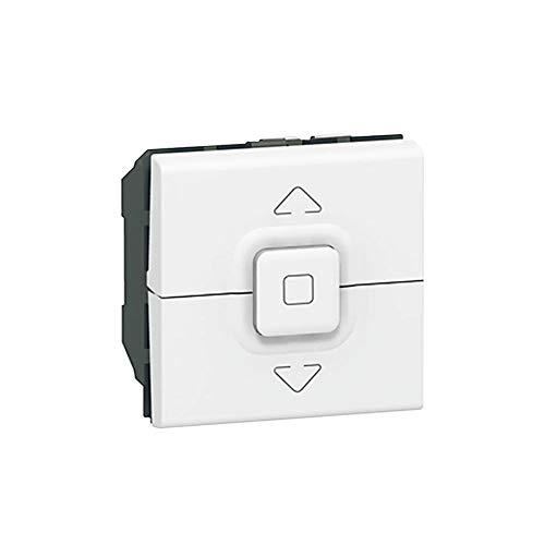 Interruptor para persianas Mosaic, 2 módulos (Legrand 077026)