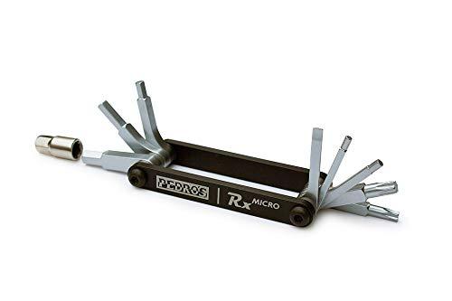 Pedro's RX Micro-9 Outil Multifonction Mixte Adulte, Noir, Taille Unique