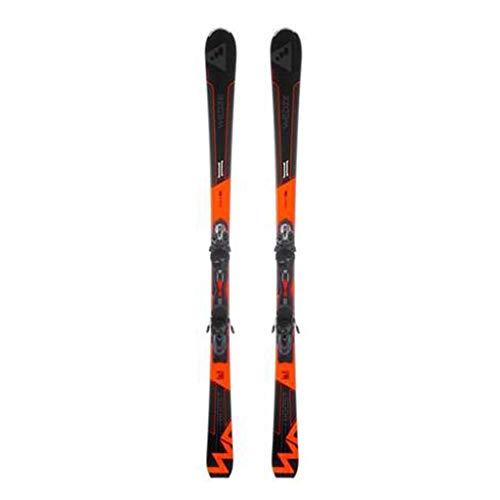 Rodel Snowboard Herren-Ski Doppel Board Herren-Doppelbrett Skiausrüstung Jungen Und Mädchen Griffe Leicht Zu Steuern Ski (Color : Orange, Size : 170cm/66.9 inches)