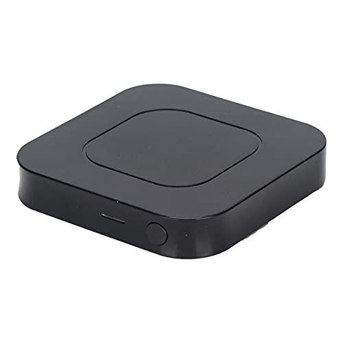 01 Transmisor Receptor de Audio 2 en 1, Conveniente transmisor de Audio de 3,5 mm Receptor 5,0 para teléfono Inteligente para el hogar para Reproductor de CD para Auriculares