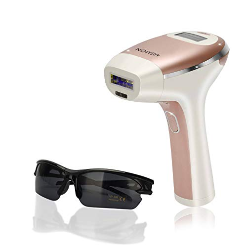 Laser Hair Removal for Woman and Men Permanent Hair Removal 300000 Flashes Home Use Hair Remover Device for Bikini Face Legs Arms Armpits